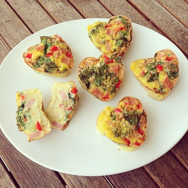 Eggmuffin // oppskrift på raske, enkle, sunne og gode eggemuffins er no på bloggen lag ikveld, oppbevar i kjøleskap og ta med i lunsjboksen sammen med en frisk salat dei kommende dagane! www.lindastuhaug.blogg.no #Padgram