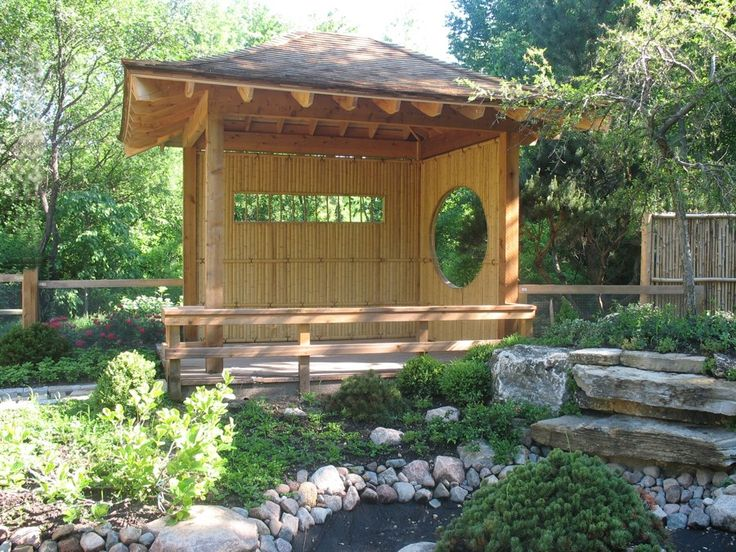 my pavillion plans. Japanese Tea HouseJapanese GardensJapanese ...