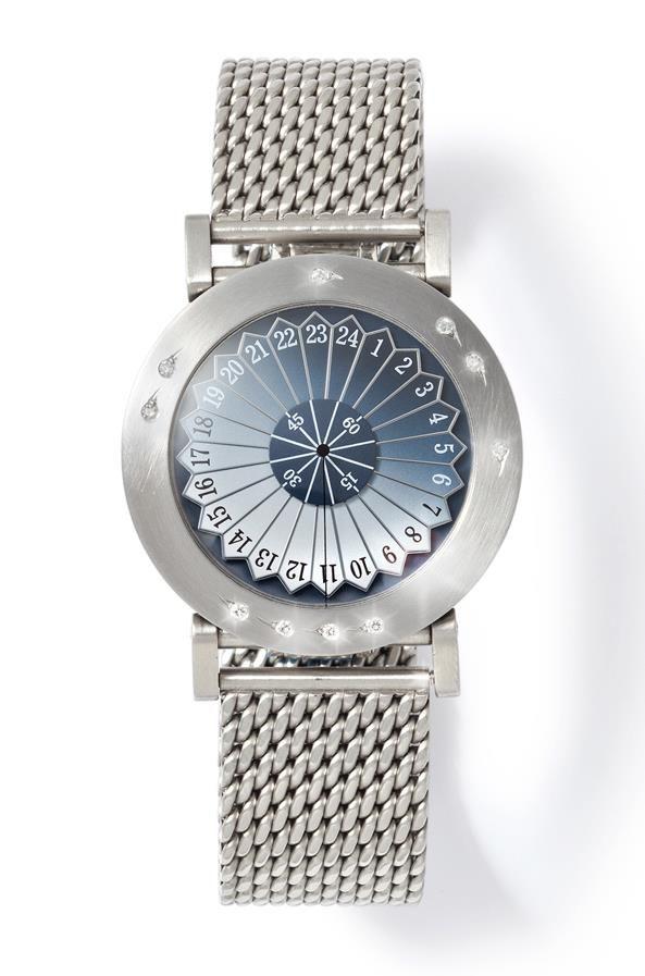 A global sense of time...with diamonds.