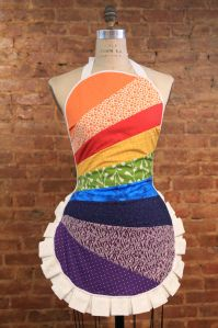 Rainbow Scrap Ruffle
