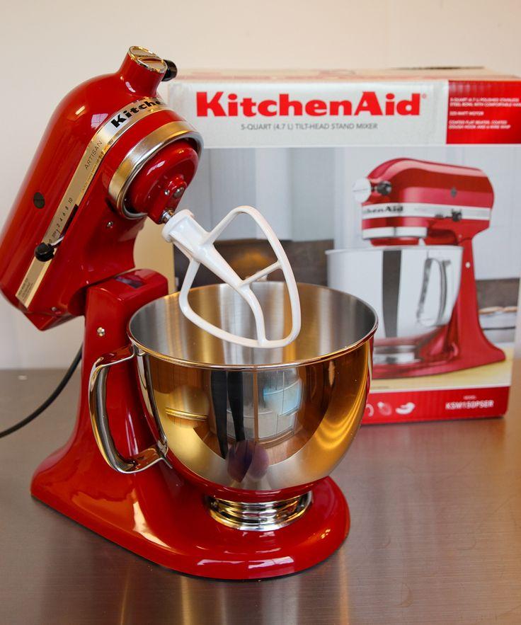 kitchenaid food mixer red