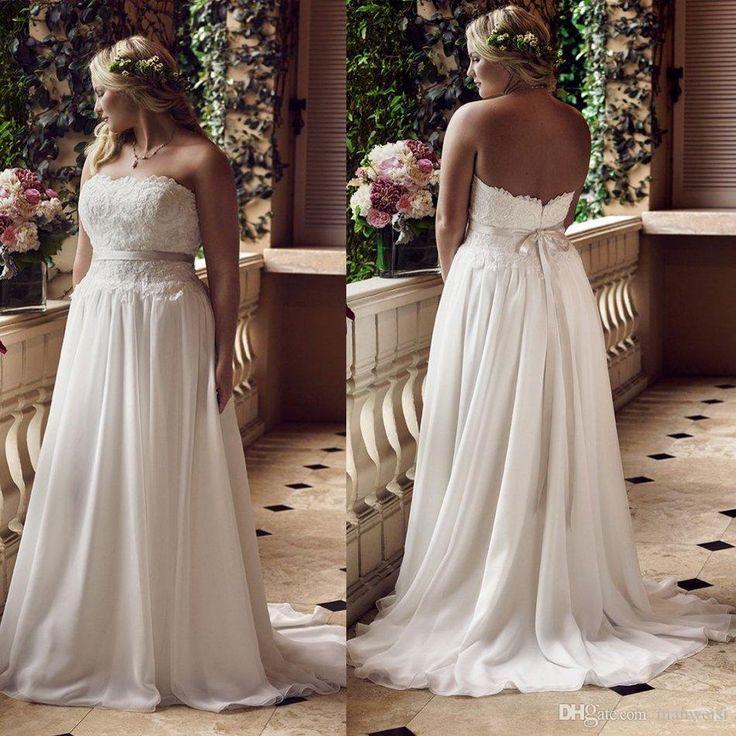Greek Style A Line Chiffon Wedding Dress 2017 Simple Sash: 521 Best Wedding: Dresses Images On Pinterest