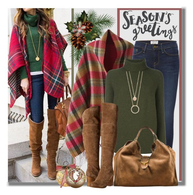 Season's Greetings by brendariley-1 on Polyvore featuring polyvore, fashion, style, Christian Wijnants, Frame, Splendid, Gucci, Kate Spade, Glory Haus, Amara, Cultural Intrigue, clothing and Christmas