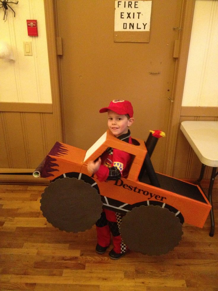Monster Truck costume 2012