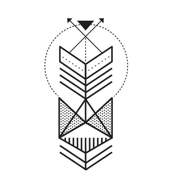 Simple Line Art Tattoos : Best geometric tattoo ideas images on pinterest
