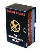 All 3 books. Incredible. The Hunger Games, Catching Fire, & Mockingjay. Team Peeta!!