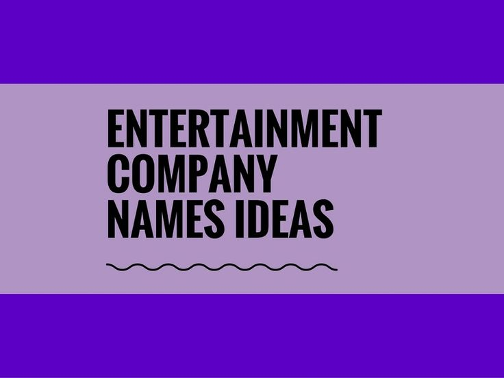 While your business may be extremely professional and important, choosing a creative company name can attract more attention.A Creative name is the most important thing of marketing. Check here creative, best Entertainment Company names ideas for your inspiration.