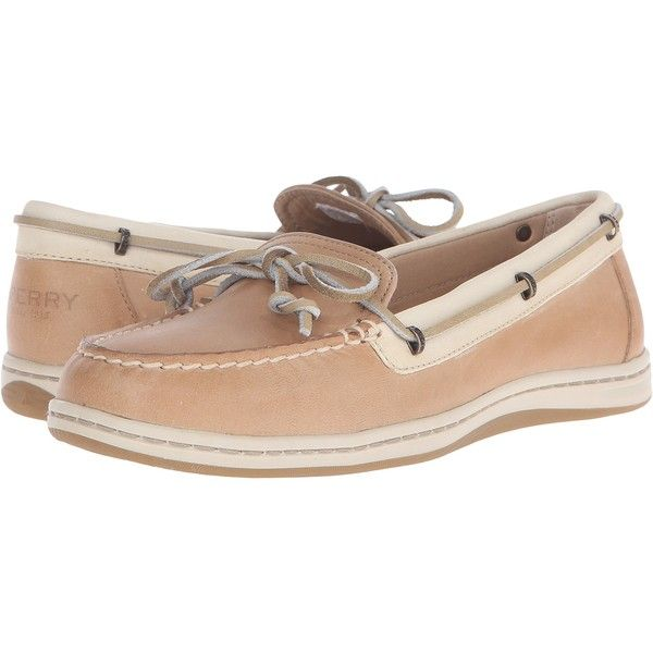 Sperry Top-Sider Women's Jewelfish Lace Linen/Oat Boat Shoe - My Comfort  Shoes