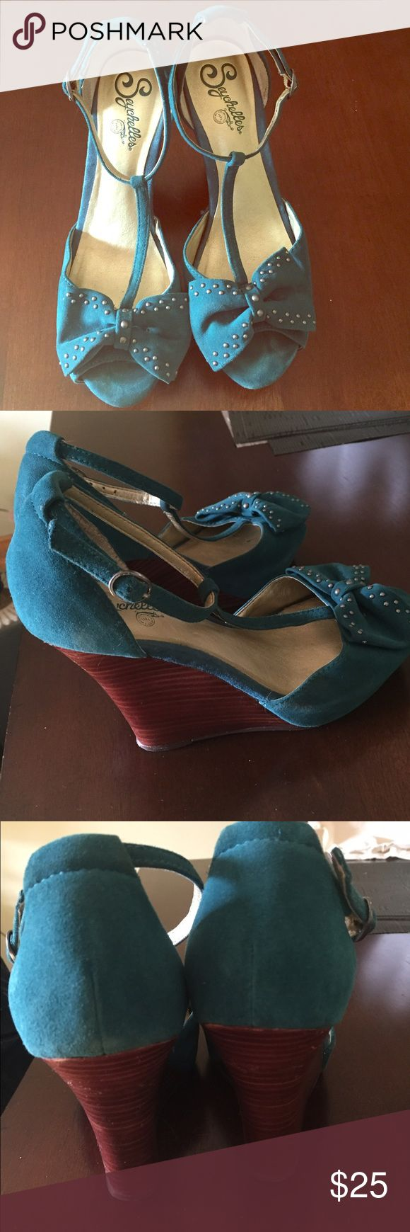 Seychelles shoes In good condition!! Seychelles Shoes Wedges