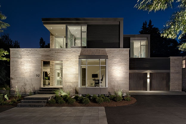 512 island park drive barry j hobin associates for Modern house design ottawa