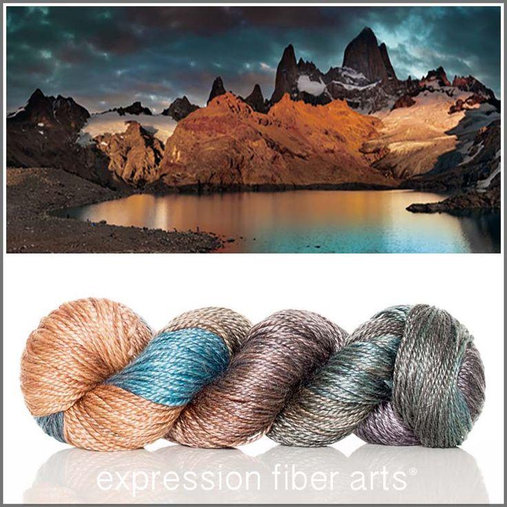 Expression Fiber Arts, Inc. - I WILL RISE 'LUSTER' SUPERWASH MERINO TENCEL WORSTED YARN, $24.00 (http://www.expressionfiberarts.com/products/i-will-rise-luster-superwash-merino-tencel-worsted.html)