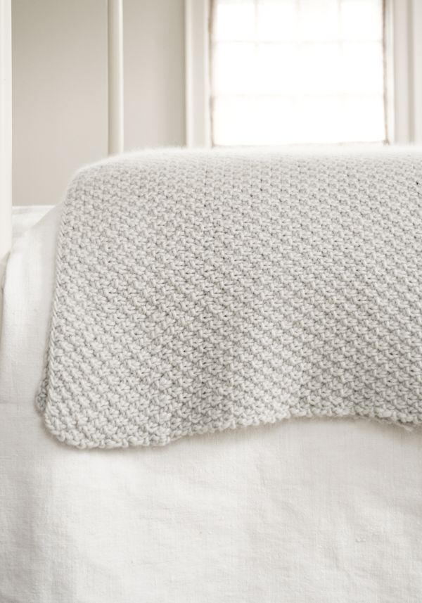 blanket pattern - the purl bee