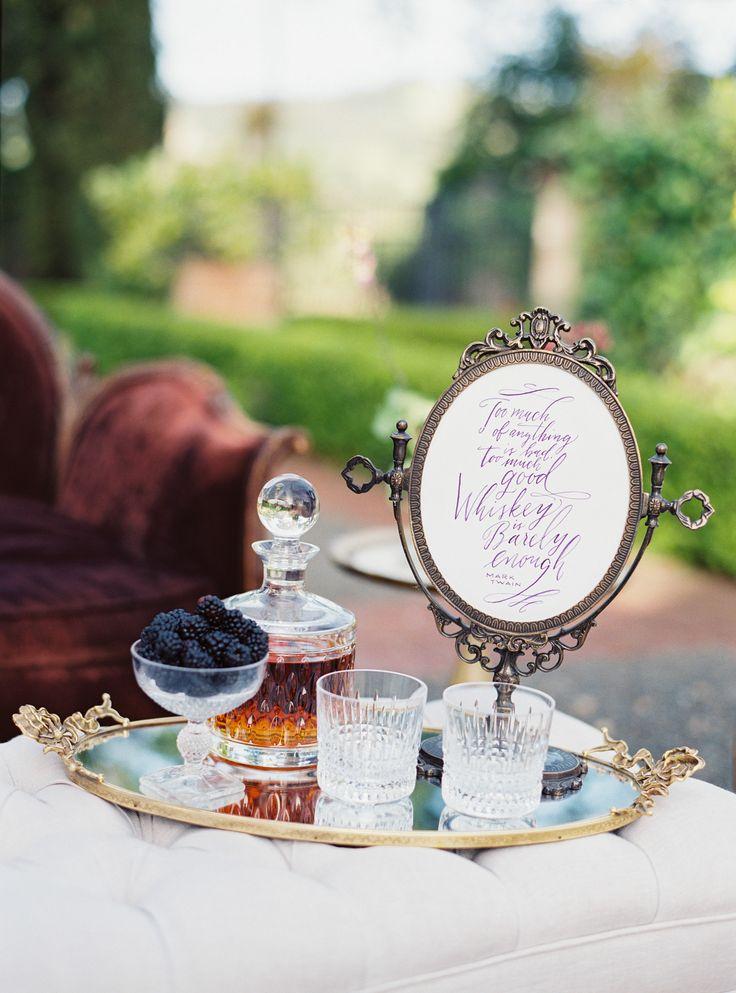 Vintage Weddings Wedding Details Boho Vineyard Winery California