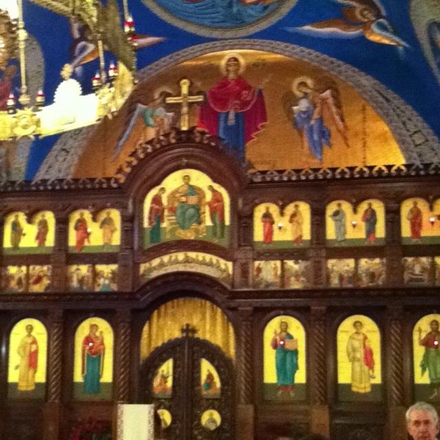 Greek Wedding Altar: St Nicholas Ukrainian Church In Toronto, Seen In The Movie