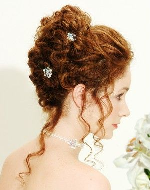 hair wedding hair styles 8 best curly hair partial updos images on 9407