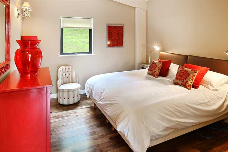 Each room is individually designed and furnished