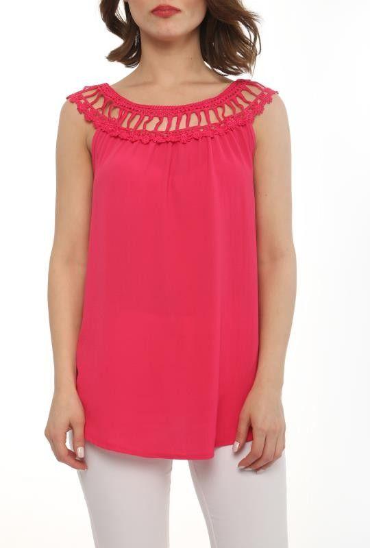 Designer Sistinas Rundhals Damen Shirt Pink
