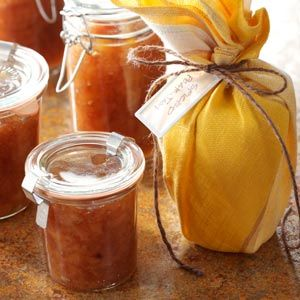 30 Recipes for Gifts in a Jar - Make your homemade food gifts just a little more special by packaging them in pretty jars, from pancake, muffin, soup and cocoa mixes to canned salsas, jams, sauces and spices.