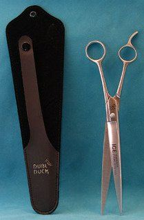 """Dubl Duck Economy 10"""" Straight Dog Grooming Scissors -- To view further for this item, visit the image link."""