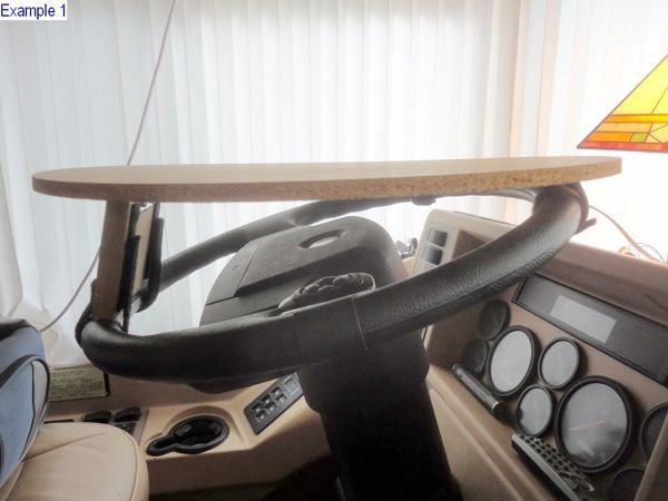 Rv Steering Wheel Table Mod Don T You Need Another Place