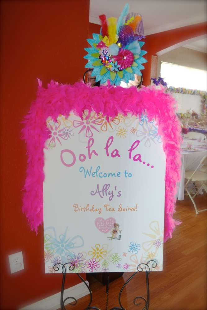Fancy Nancy Birthday Party Ideas | Photo 37 of 54 | Catch My Party