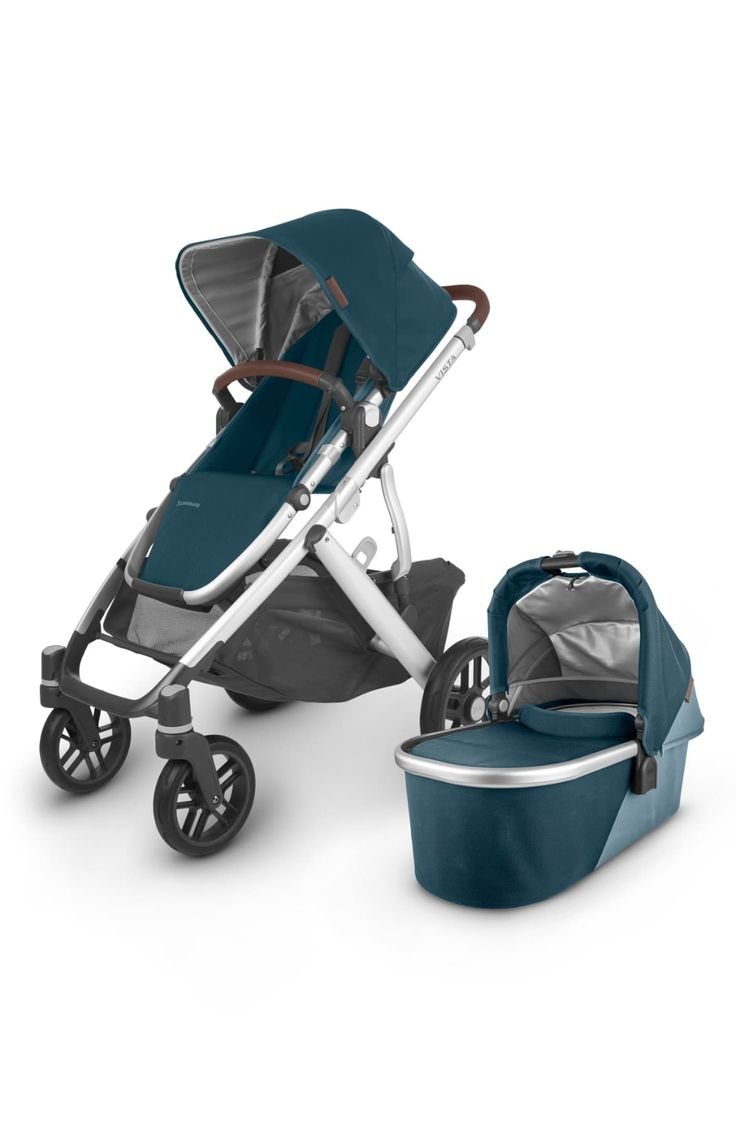 UPPAbaby Vista V2 Stroller with Bassinet & Toddler Seat ...