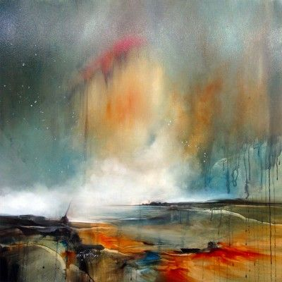 Playing with Light by Alison Johnson   Lacey Contemporary Gallery Notting Hill London  Landscape Painting