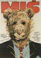 plakat do filmu Miś (1980)
