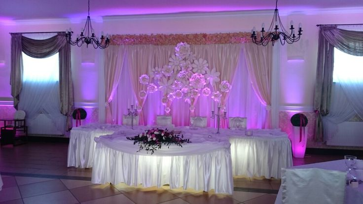 Weeding backdrop