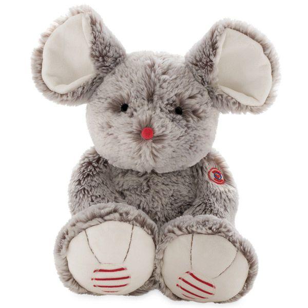 Rouge ratón grande gris 38cm