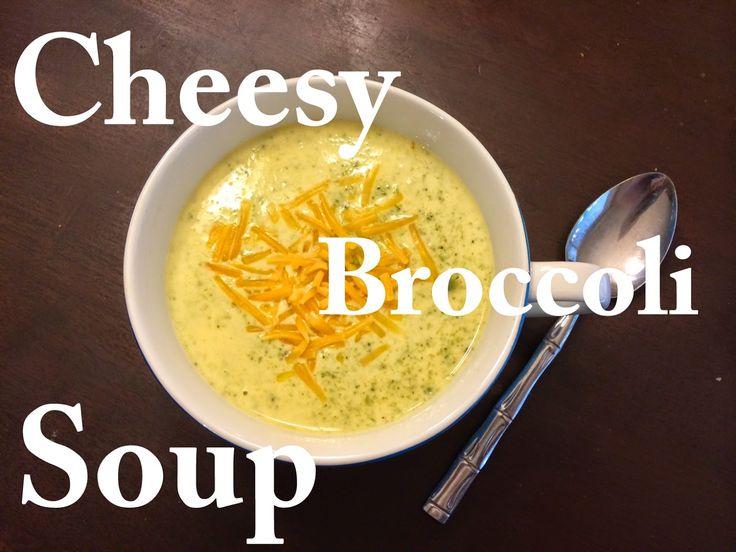 Cut the Wheat, Ditch the Sugar: Cheesy Broccoli Soup