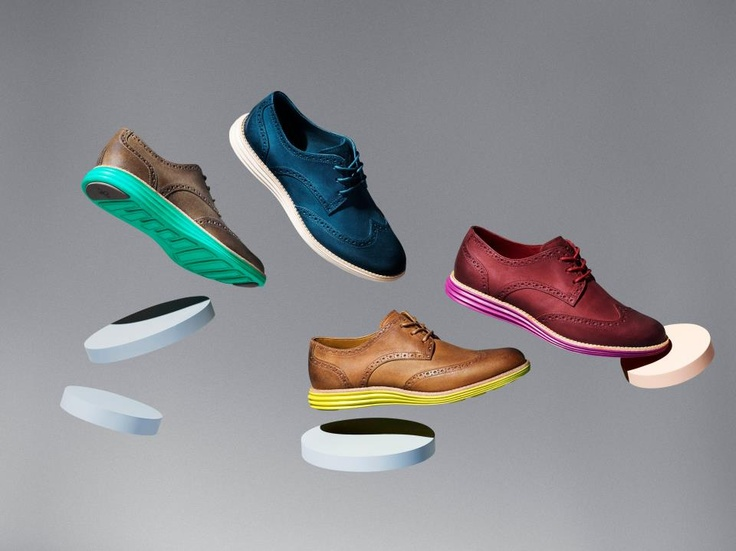 Cole Haan for Nike LunarGrand Wingtip Leather Collection