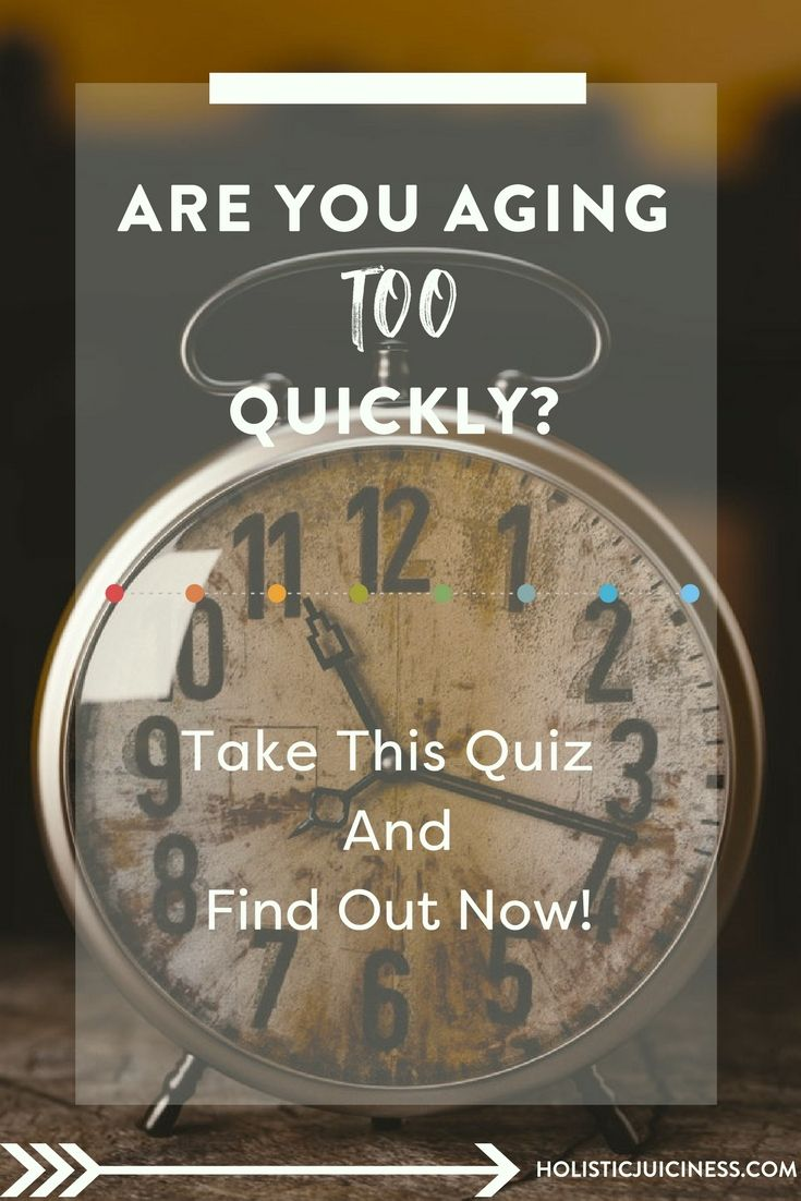 Ever wonder if you look older than your years? We all do! Take this quick quiz to find out, and learn how to turn back the clock.