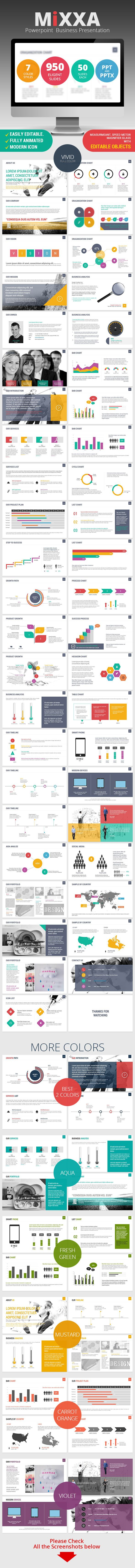 Mixxa Business Powerpoint Presentation - #Business #PowerPoint #Templates Download here: https://graphicriver.net/item/mixxa-business-powerpoint-presentation/8083619?ref=alena994