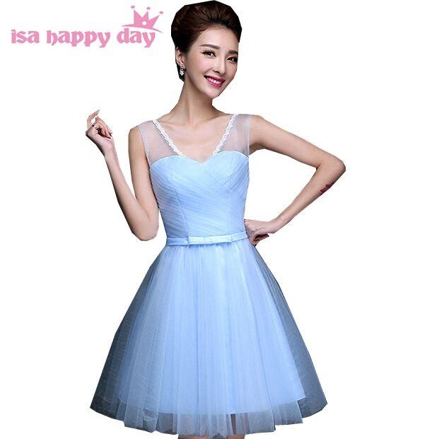 robes de soirees new vintage elegance women light sky blue sleeveless girl Cocktail  dress party dresses cfc5c01b4616