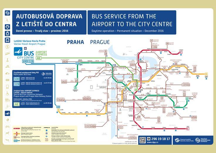 Prague Airport to City Centre Public Transport