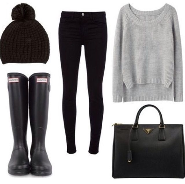 simple chilly weather outfit