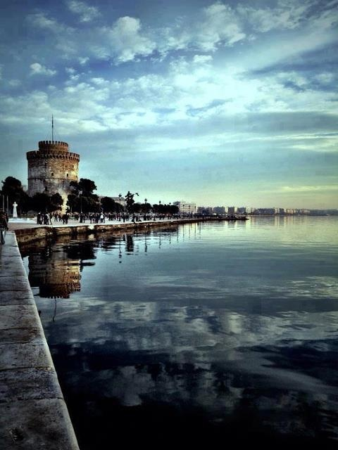 thessaloniki, Greece ... My LOVE LOVE of my life i LOVE YOU - i mean you my love not this city