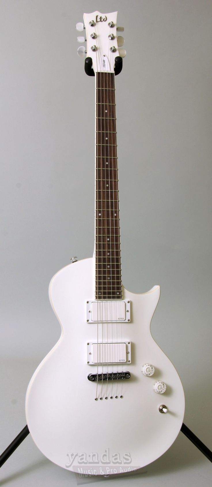 LTD TED-600 Ted Aguilar Signature Electric Guitar | Snow White