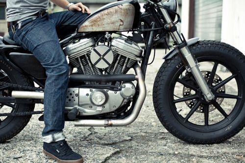 .: Harley Davidson, Vintage Motorcycles, Old Motorcycles, Style, Flowers Crowns, Sportster, Motorbikes Galleries, Vintage Bike, Cafe Racers