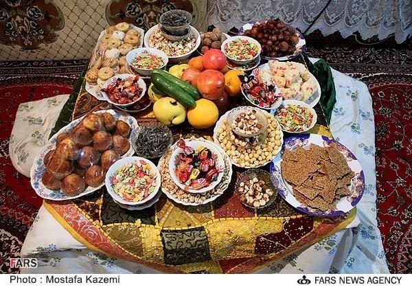IRAN / Nuts and candies for Yalda night
