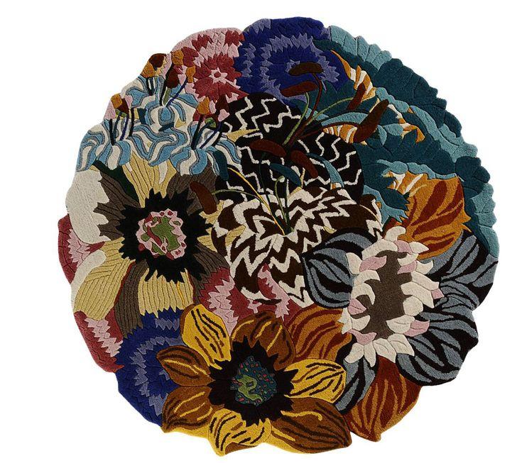 diametro 150 cm composizione lana Missoni Home www.renzisantaarredamenti.it