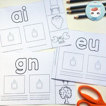57 best images about French Phonics | French Sounds on Pinterest ...
