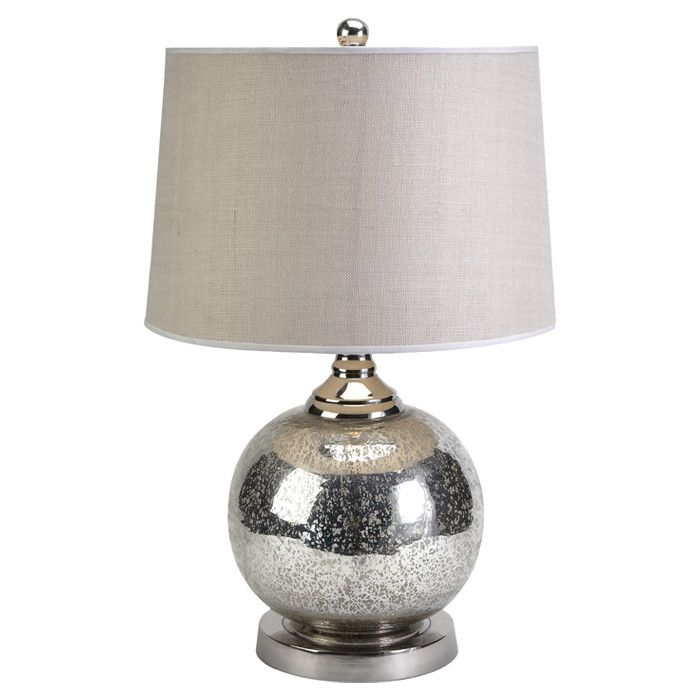 mercury glass table lamp bedroom pinterest. Black Bedroom Furniture Sets. Home Design Ideas