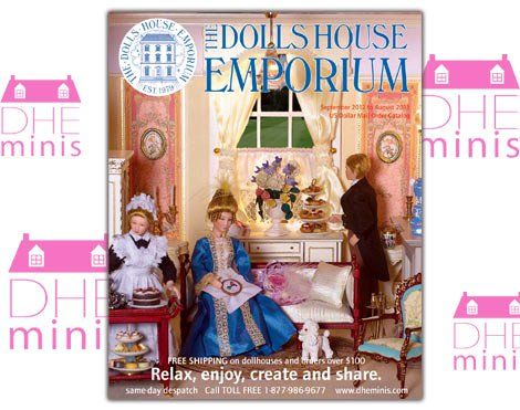 Request The Catalog: Books Magazines, Dollshouse Emporium, Dollhouse Emporium, Dollhouses, Dollhouse Products, Dollhouse Miniatures, Miniature Magazines