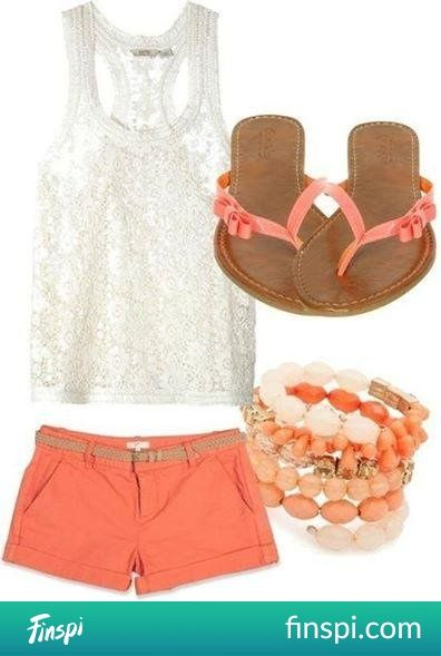 The Summer Set #fashion #outfit #stylisation #summer #set