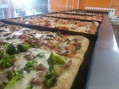 Pizza al trancio fatta in casa, ecco i trucchi[VIDEO]