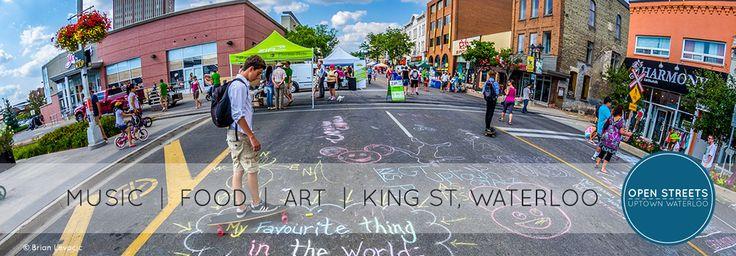 Open Streets Uptown Waterloo