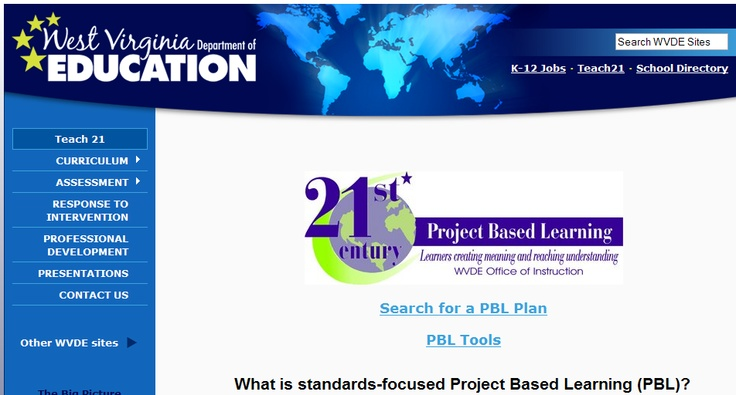 how to create a project based learning lesson