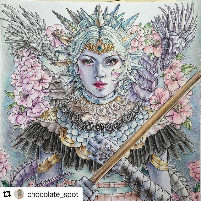 Coloured Pencils Adult Coloring Books Colouring Chocolates Mermaids Secret Gardens Art Drawings Ideas